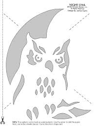 Printable Dinosaur Pumpkin Carving Patterns by Carve Pumpkins Into Birds With These Stencils Pumpkin Carving