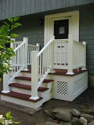 best 25 front porch deck ideas on deck skirting