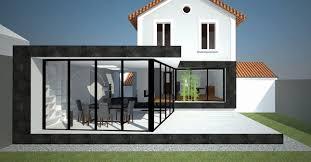 extension chambre porte d entrée pour extension maison chambre nouveau idees extension