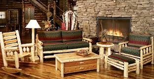 Rustic Wooden Living Room Furniture