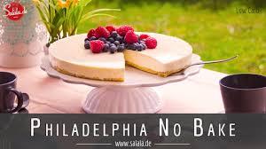 philadelphia torte no bake low carb