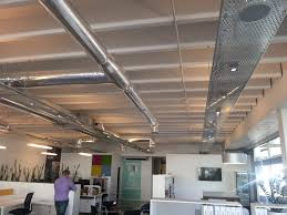 100 Exposed Ceiling Design Ducting And Cable Trays In 2019 Office Lighting