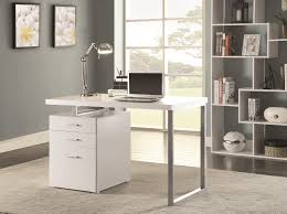 Coaster Contemporary Computer Desk by Writing Desk With File Drawer And Reversible Right Or Left Handed
