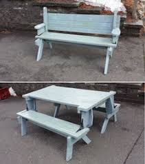 free folding picnic table plans the parts projects to make