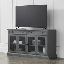 Image Of TV Console Table And Cabinet