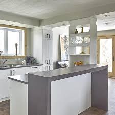 meuble suspendu cuisine comptoir en granit blanc les suspendues métal peinture murale