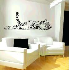 Bedroom Wall Decals Ideas Charming Decoration Living Room Decal Plush Design Simple