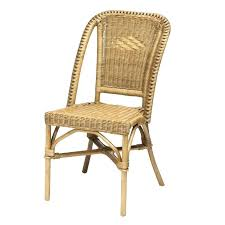chaises en osier chaise en osier chaise rotin selva meuble rotin chaise en rotin
