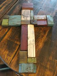 Wood Projects Cross Made From Pallet Board Scraps Original Idea Beyond The Picket Fence Added