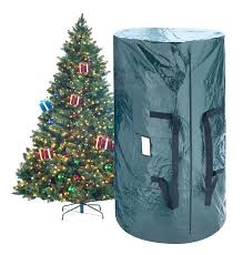 Storage Bag For Christmas Tree 2 Piece Deluxe Green Set Artificial