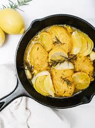 cuisine detox detox lemon garlic chicken with turmeric the effortless chic