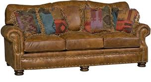 King Hickory Sofa Construction by Easton Leather Sofa 1600 L King Hickory Array From