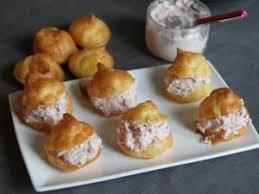 choux farcis à la crème de jambon fromage par miameuh