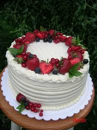 Cakes Decorated With Fruit by Best 25 Fruit Cake Decorating Ideas On Pinterest Strawberry