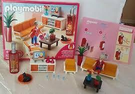 playmobil wohnzimmer 5332 küche postzusteller und ganz viel zubehör ebay