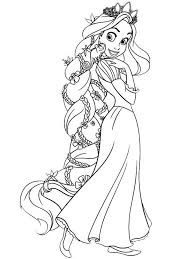 Disney Princess Coloring Pages To Print 1