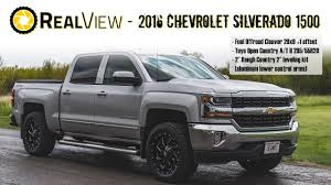 RealView - Leveled 2016 Chevy Silverado 1500 W/ 20