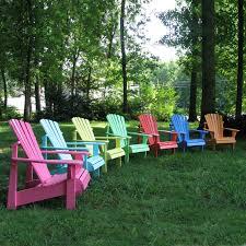 Custom Painted Margaritaville Adirondack Chairs by Rainbow Of Adirondack Chairs From Hayneedle Designer U0027s Choice