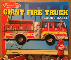 MELISSA & Doug Giant Fire Truck Floor Puzzle 24 Pieces 4 Ft Long ... Sound Puzzles Upc 0072076814 Mickey Fire Truck Station Set Upcitemdbcom Kelebihan Melissa Doug Around The Puzzle 736 On Sale And Trucks Ages Etsy 9 Pieces Multi 772003438 Chunky By 3721 Youtube Vehicles Soar Life Products Jigsaw In A Box Pinterest Small Knob Engine Single Replacement Piece Wooden Vehicle Around The Fire Station Sound Puzzle Fdny Shop