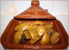 comment cuisiner le coing tajine de coings recettes marocaines sousoukitchen