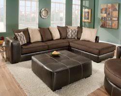 American Freight 7 Piece Living Room Set by San Marino Chocolate 2 Pc Sectional Sofa Living Rooms American