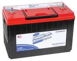 100 Heavy Duty Truck Battery PowerRush Platinum