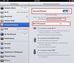 iPad Hotspot – How to Turn it & – iPad Notebook