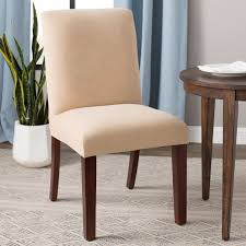 Slipcovers For Parsons Chairs You'll Love In 2019 | Wayfair Ding Room Chair Slipcovers And Also Wingback My Living Room Is A Mess But I Cant Afford New Upholstery Slipcovers For Chairs That Embellish Your Usual How To Make A Custom Chair Slipcover Hgtv Buy Covers Online At Overstock Our Best Fresh Ideas Folding Box Cushion Carmel Sofa Sofas Sleepers Gus Modern Updated La Dream Kinda Marges Home Ask The Audience Go With My New Ding Table Teresting Cover Chaircovers