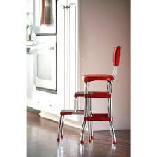 Cosco Counter Chair Step Stool by Amazing Cosco Red Step Stool Picture Metal Lift Out Steps Vintage