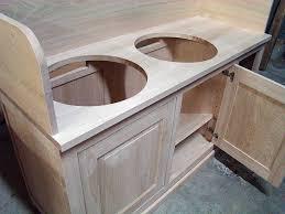 fabriquer un meuble de cuisine brut de bois fabrication de meubles sur mesure pour les particuliers