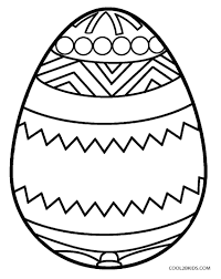 Egg Coloring Pages Blank Page Drawing And Marisa Easter