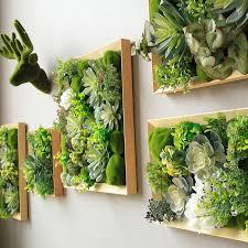 nordic grüne pflanze wand dekoration wohnzimmer hintergrund wand deer kopf simulation fleischigen pflanze buy gras kopf pflanzen dekorative pflanzen