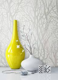 newroom vliestapete blumentapete grau wallpaper floral blumen tapete natur pflanzen wohnzimmer schlafzimmer büro flur kaufen otto
