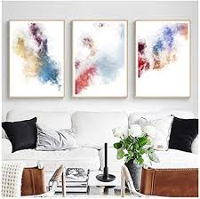 dlfalg leinwand malerei nordic abstract aquarell dekor