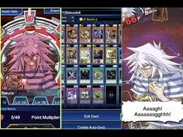 yugioh bakura character deck how to beat lvl 40 yami bakura yu gi oh duel links gameplay
