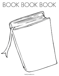 Coloring Pages Of Books