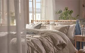 schlafzimmer natürliche einrichtung zum wohlfühlen ikea