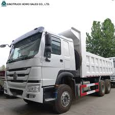 China SINOTRUK HOWO 6X4 Ten Wheeler 16 Cubic Meters Off Road Dump ...