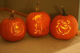 Easy Mike Wazowski Pumpkin Carving Template by Monkey Pumpkin Carving Ideas Halloween Radio Site
