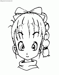 Dragon Ball Z 268 Dibujos Animados P Ginas Para Colorear Zanzous