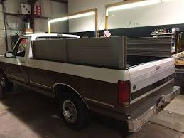 Pickup Truck Sideboards/Stake Sides - Ford Super Duty: 4 Steps (with ...