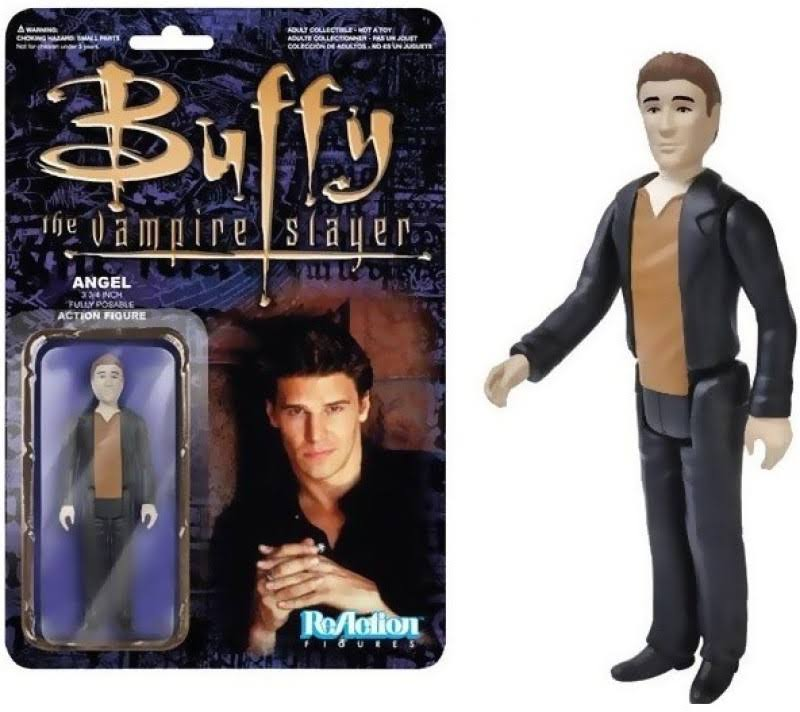 Funko Buffy The Vampire Slayer Reaction Figure - Angel, 3.75""