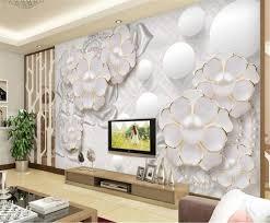 großhandel 3d schlafzimmer tapete 3d blumen wohnzimmer schlafzimmer tv hintergrund wand tapete hd digitaldruck feuchtigkeit wandpapier