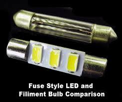 cabin bright fuse style 3 5730 led bulb