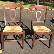 Pottery Barn Aaron Chair Espresso by Pottery Barn Dining Chairs Ebay