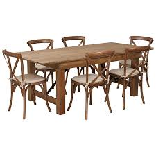 Amazon.com: 7' X 40'' Antique Rustic Folding Farm Table Set ... Lindsey Farm 6piece Trestle Table Set Urban Chic Small Ding Bench Hallowood Amazoncom Vermont The Gather Ash 14 Rentals San Diego View Our Gallery Lots Of Rustic Tables Jesus Custom Square Farmhouse Farm Table W Matching Benches Reclaimed Chestnut Wood Harvest Matching Free Diy Woodworking Plans For A Farmhouse Handmade Coffee Ashley Distressed Counter 4 Chairs Modern Southern Pine Wmatching Bench