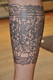 Maya Mayan Tribal Sleeve Tattoos Tattoo History Google Search Ink Samoan By Dave Rodriguez