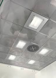 Tegular Ceiling Tile Dimensions by Metal Suspended Ceiling Tile 24 Linear Tegular Stretched