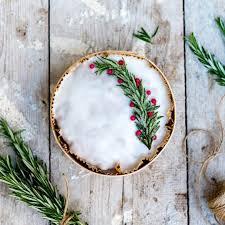 weihnachtskuchen oma brigitte per post