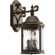 shop progress lighting ashmore 14 81 in h antique bronze outdoor